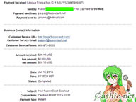 FusionCash 8th payment - PayPal